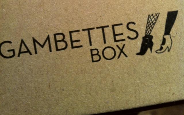 Chic! Ma Gambettes Box est arrivée !