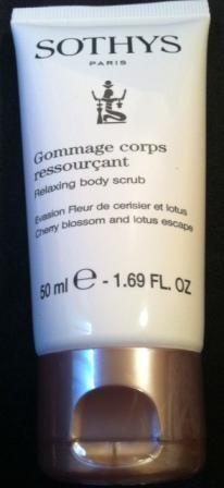 Sothys - Gommage corps ressourçant
